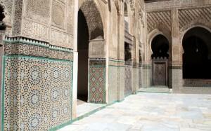 2016-05-24 (detall pati madrassa Bou Inania)