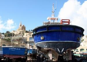 2016-11-21 (barques al port de Mgarr a Gozo)