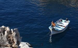 2016-11-22 (barca a blue grotto)